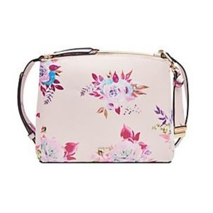 NEW! Nine West Floral Crossbody